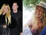 Accused: Katie Price has publicly accused her former nanny, Nikki Brown, of having an affair with her husband Kieran Hayler. Nikki, pictured on holiday, vehemently denied the claims and said she was owed thousands of pounds by Price, 39