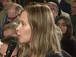 During Monday's press conference, President Trump (right) confused two Finnish female journalists, as they both had blonde hair