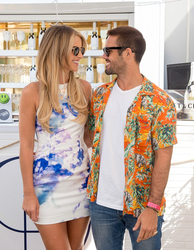 Spencer Matthews. who is dating Irish model Vogue Williams, tells me at the launch of Club Brunch at Madison in the City: 'I am quite possibly getting married'