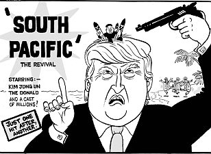 Mac on... Donald Trump's south Pacific problems