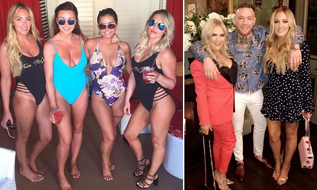 Conor McGregor's sisters flaunt glamorous lives