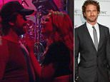 Hollywood actor Gerard Butler, 47, (left) was seen kissing a mystery blonde (right) at a Las Vegas nightclub Friday ahead of the Mayweather vs McGregor superfight