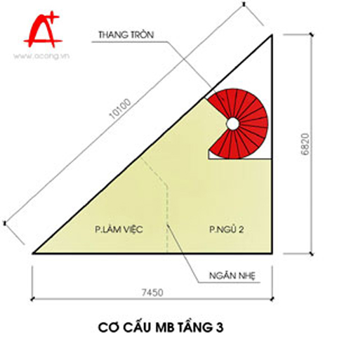 Lưu ý khi thiết kế nhà trên đất hình tam giác | ảnh 1