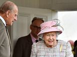 Family affair: The Queen (centre) was joined by Prince Philip (left) and Prince Charles (right) at theBraemar Gathering in Scotland