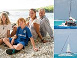 Cheryl and Bobby Cooper with their children Lauren and Robbie on the island of Niue.The extraordinary story of their miraculous rescue made global headlines last week when they were plucked off Beveridge Reef in the middle of the South Pacific