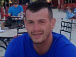 Pictured: Kevin Daffurn, 30, was found dead by two holidaymakers on Friday