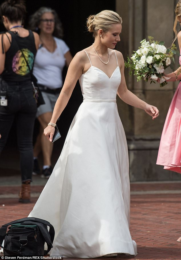Coming 2018: In Netflix movie Like Father Kristen will play a workaholic bride who is left at the alter by her groom-to-be