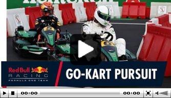 Video: 'Footballers vs Racers' at Monza