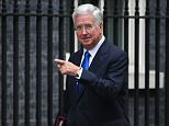 Sir Michael Fallon said ending free movement was necessary to reduce inflows after a leaked document outlined a new post-Brexit system