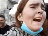 Footage captures the moment a German schoolgirl was found hiding in war-torn Mosul having fled from Germany to join ISIS