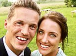 Jake Coates met his wife Emmy Collett (pictured together) when they were both 11 years old