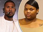 Quantasia Sharpton (pictured), the woman who is accusing Usher of exposing her to genital herpes, says she has a sex tape of the two of them