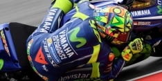 Rossi starts light physiotherapy after crash