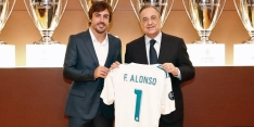 Alonso becomes honorary Real Madrid member