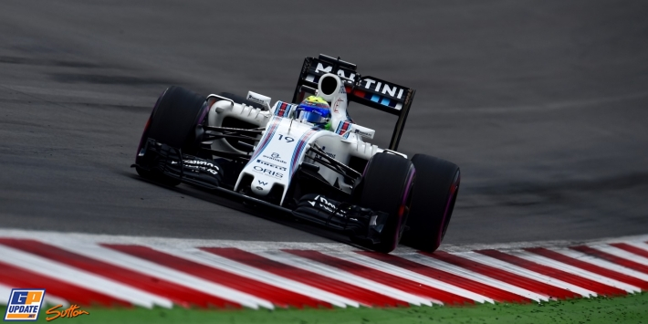 Massa changes wing, to start from pits