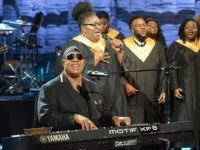 Stevie Wonder at Hurricane Relief Telethon: Global Warming Non-Believers 'Must Be Blind'