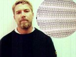 Scott Peterson was picked up by police on April 18, 2003 and taken in for the death of his wife Laci, 27, and their unborn son Conner (Scott above after being taken into police custody)