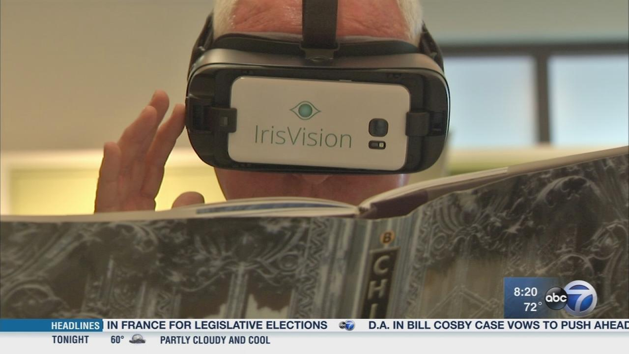 New Iris Vision technology aims to help visually impaired