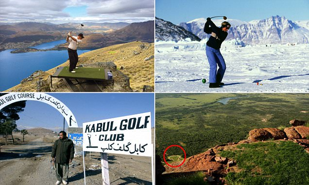 The world's most extreme golf courses