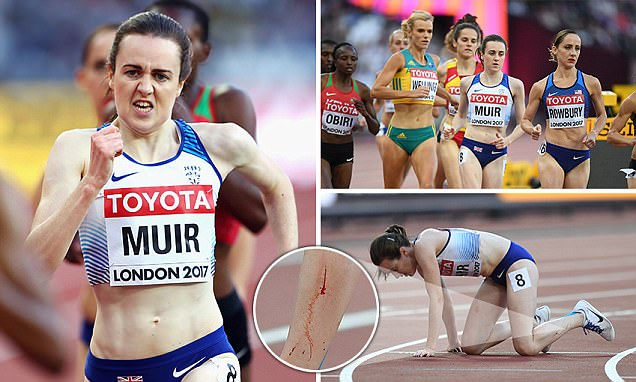 Laura Muir reaches 5,000m final as a fastest loser