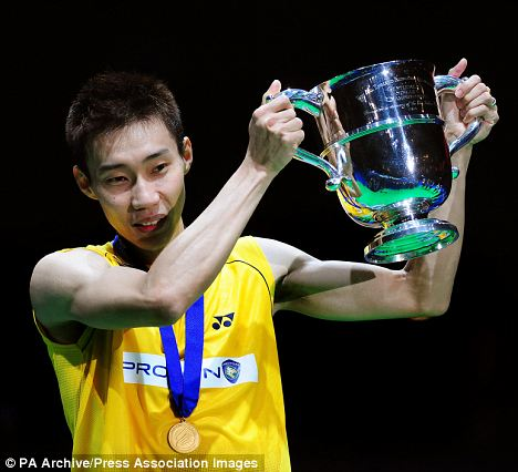 Incentivised: Malysia's Wei Chong Lee could walk away with about £400,000 plus a gold bar worth some £380,000 if he emerges triumphant from the Olympic table tennis