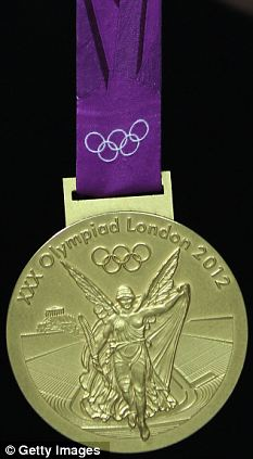 Still worth it... British gold medallists will have a postage stamp designed and distributed in their honour