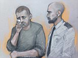 Ryszard Masierak (pictured in a court sketch), 31, who is accused of killing eight people in a horror crash on the M1, was 'asleep in the slow lane for 12 minutes' before the smash