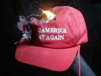 Trump Voters Throw MAGA Hats into Twitter Bonfire