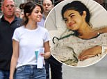 , New York, NY - 9/14/17\nSelena Gomez and Timothee Chalamet pictured on the New York set of the Untitled Woody Allen Project. Gomez recently revealed that she underwent a secret kidney transplant over the summer.\n-PICTURED: Selena Gomez, Timothee Chalamet\n-PHOTO by: Jose Perez/startraksphoto.com\n-STARTRAKS_Selena_Gomez_Woody_Allen_Set_33418109196\nEditorial - Rights Managed Image - Please contact www.startraksphoto.com for licensing fee\nStartraks Photo\nNew York, NY\nFor licensing please call 212-414-9464 or email sales@startraksphoto.com\nImage may not be published in any way that is or might be deemed defamatory, libelous, pornographic, or obscene. Please consult our sales department for any clarification or question you may have.\nStartraks Photo reserves the right to pursue unauthorized users of this image. If you violate our intellectual property you may be liable for actual damages, loss of income, and profits you derive from the use of this image, and where appropriate, the