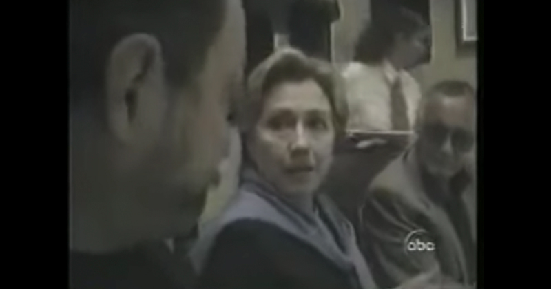 Hillary Caught on Camera Admitting she Hides Information from Investigators