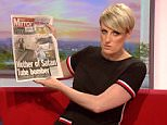 BBC Breakfast presenter Steph McGovern appeared to accidentally flash her knickers to viewers during a morning broadcast on Saturday