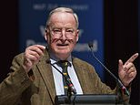 """FILE - In this Sept. 9, 2017 file photo top candidate of the Alternative for Germany, AFD for the upcoming general election Alexander Gauland delivers a speech during an election campaign in Nuremberg, Germany. Germany's justice minister Heiko Maas has criticized Gauland for saying the country has a right to be """"proud of German soldiers' achievements in two world wars."""" (Daniel Karmann/dpa via AP, file)"""