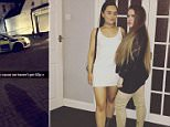 Yeva Wilcox (pictured left) and Sophie Heath (pictured right) were on their way home from a night out clubbing in Newcastle-under-Lyme yesterday when they got into a spot of bother with their taxi driver