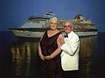 Penny and Ronald Jones (pictured on a luxury cruise holiday)unwittingly gave their love and support to two teenagers embroiled in the investigation into the Parsons Green bombing