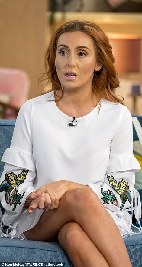 She went on ITV's This Morning