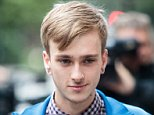 Charlie Alliston, pictured arriving at the Old Bailey to be sentenced today, where he was jailed for 18 months