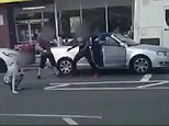 Walk away see another day: Two men got more than they bargained for when they approached a motorist in a road rage outburst who turned out to be a martial arts expert