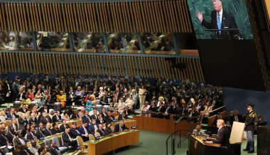 Leftists Outraged Trump Didn't Mention Russia In UN Speech