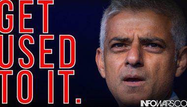London Mayor Sadiq Khan Tells Public 'Get Used To' Islamic Attacks