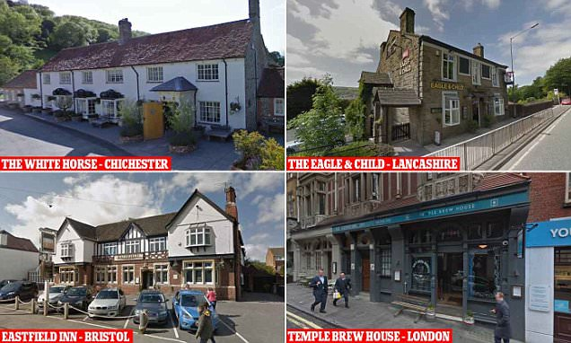 The Eagle & Child in Ramsbottom is named pub of the year