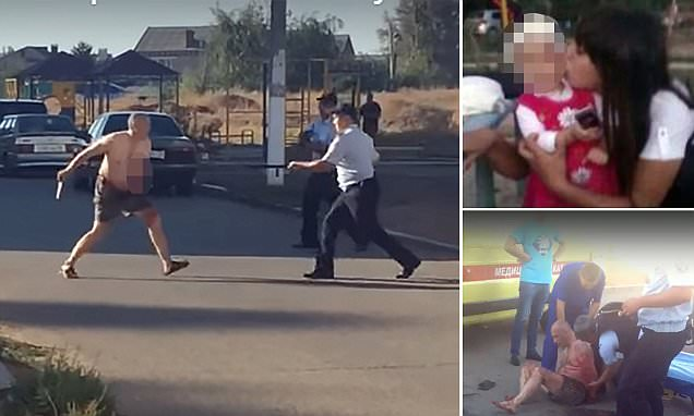 Russian 'decapitates toddler carrying head through street'