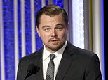 """FILE - In this Nov. 6, 2016 file photo, Leonardo DiCaprio accepts the Hollywood documentary award for """"Before the Flood"""" at the 20th annual Hollywood Film Awards in Beverly Hills, Calif. DiCaprio announced Tuesday, Sept. 19, 2017, that his eco-focused foundation has given more than $20 million in fresh grants to more than 100 organizations around the world. (Photo by Chris Pizzello/Invision/AP, File)"""