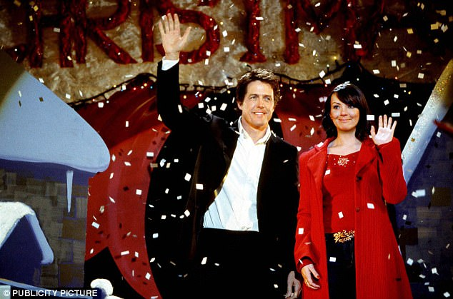 Love Actually is all around!Love Actually fans will feel the romance once again as a live concert tour of the iconic film is set to the UK this Christmas (pictured above, Hugh Grant and Martine McCutcheon)