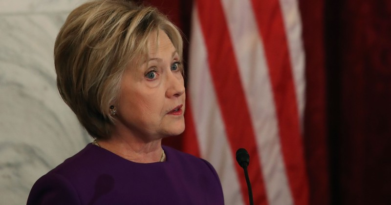 Audio: Bitter Hillary Blames FBI, Putin For Election Loss