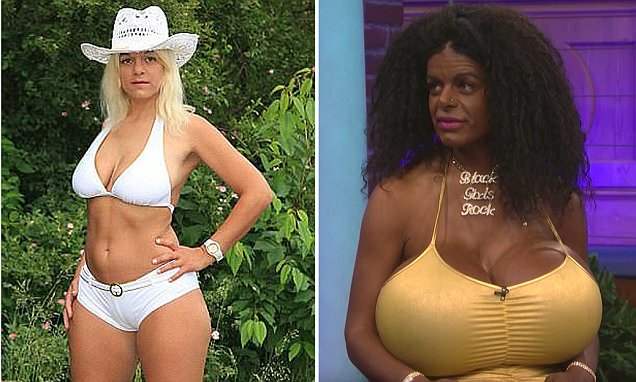 White glamour model Martina Big now identifies as black