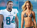 Clare Byrne, a fashion stylist, is suing Sports Illustrated swimsuit model Erin Heatherton (above) for $10million, after claiming the runway pro backed out of their business venture to pursue a relationship with NFL player Jordan Cameron