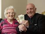 Michael Doherty, 77, from Greenock, has found his first pay packet 62 years after giving it to his mother Margaret, 104, left