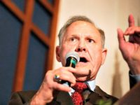 Poll: Roy Moore Holds Commanding Lead Over Luther Strange in Alabama Senate Race