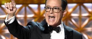 Stephen Colbert SUCKS and so did the 2017 Emmy's Ratings