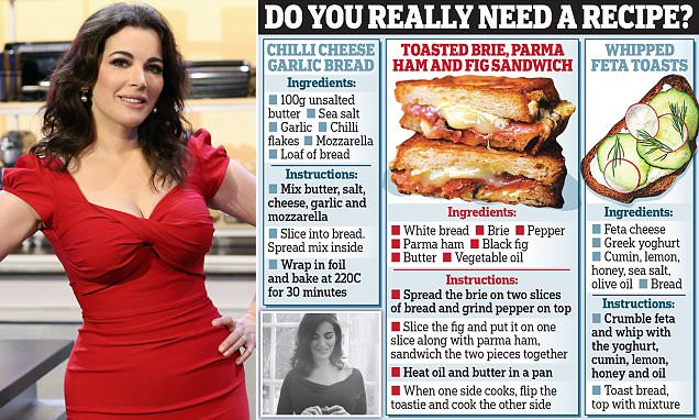 Nigella Lawson releases very simple cookbook